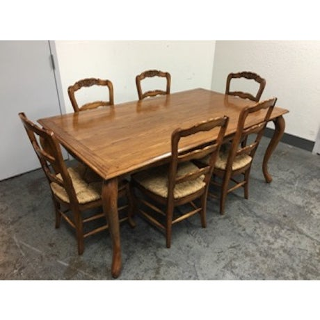 Fremarc Designs Chateau Draw Top Dining Set - Image 9 of 11