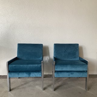 1970s Vintage Milo Baughman Chairs- A Pair Preview