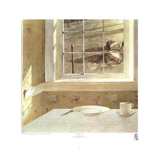 """Andrew Wyeth Groundhog Day 22.5"""" X 22"""" Poster For Sale"""