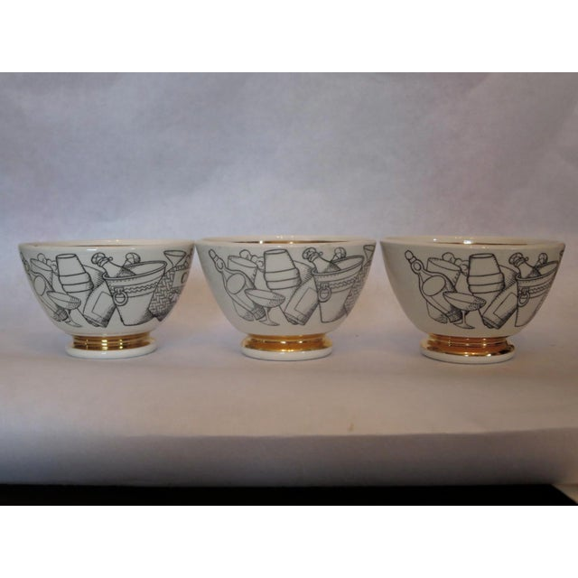 Three Decorative Small Bowls by Fornasetti - Image 5 of 6
