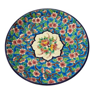 Emaux De Longwy Faience Enamel Plate For Sale