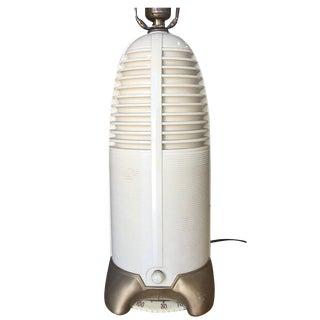 "Mitchell ""Lumitone"" Streamline Bakelite Radio Table Lamp 1941 For Sale"