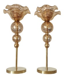 Image of Gold Leaf Table Lamps