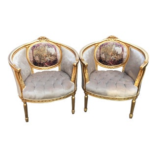 1900's French Louis XVI Chairs- a Pair For Sale