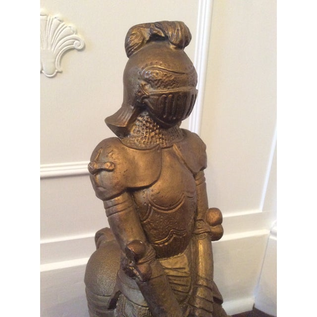 Vintage Medieval Knight Figure For Sale - Image 9 of 13