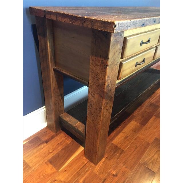 Reclaimed Wood Sideboard - Image 4 of 4