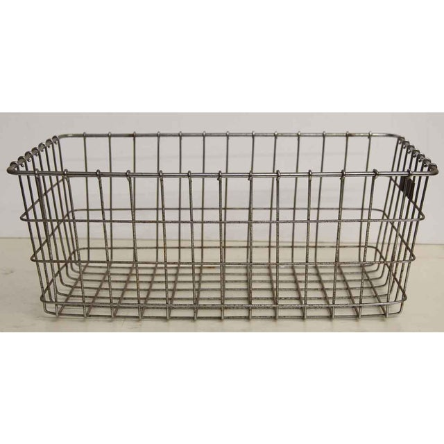 American Wire Form Co. No. 27 Metal Basket For Sale - Image 4 of 5