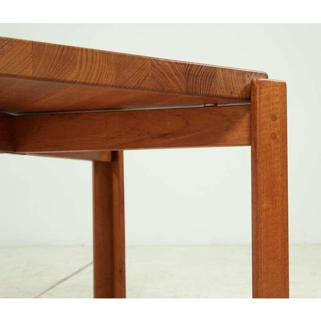 Teak Jens Quistgaard Teak Tray Table with Concave Top, Denmark, 1960s For Sale - Image 7 of 7