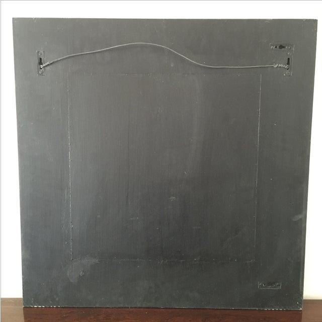 Vintage Wood Mirror - Image 5 of 8