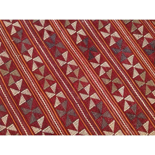 Vintage Turkish Kilim Rug - 6′7″ × 10′4″ For Sale - Image 4 of 7