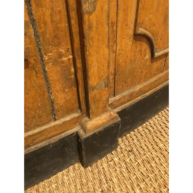 Brown French Paneling Bar For Sale - Image 8 of 10
