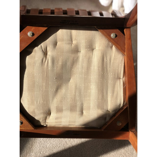 Robert R. Jamieson Vintage Handcrafted Arm Chair For Sale - Image 10 of 13