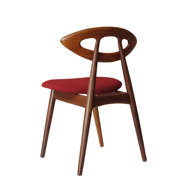 """8 Ejvind A. Johansson Dining """"Eye"""" Chairs For Sale - Image 11 of 11"""