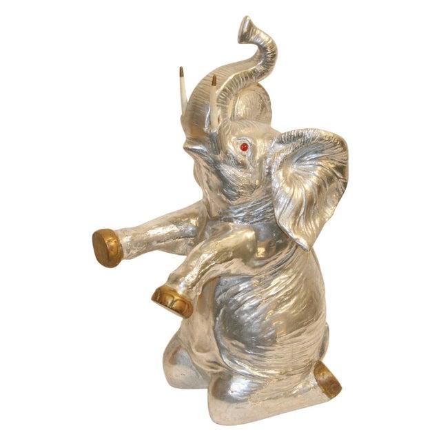 Vintage Arthur Court Elephant Champagne Cooler / Ice Bucket For Sale - Image 9 of 9