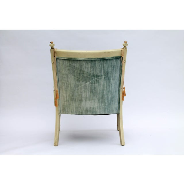 Caned Accent Chair - Image 6 of 9