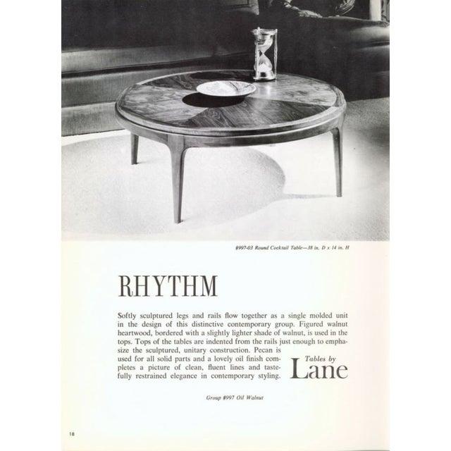 Lane Rhythm Mid-Century Walnut Side Table For Sale - Image 10 of 10