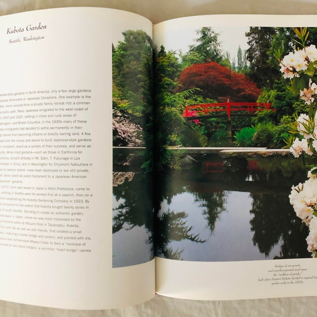 """1999 """"Japanese Style Gardens of the Pacific West Coast"""" Rizzoli Garden & Design Book For Sale - Image 4 of 8"""