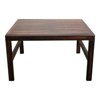 Original Danish Mid Century Rosewood Side Table - Brian For Sale