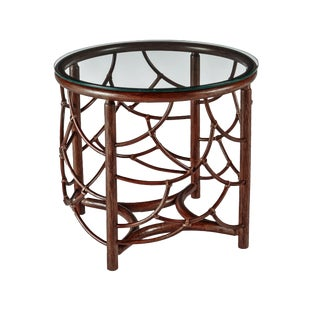 Cinnamon Dot Side Table