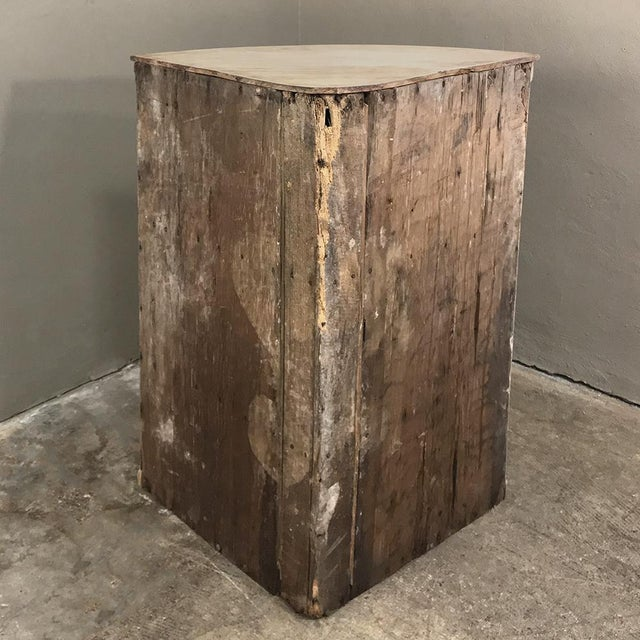 19th Century Swedish Stripped Pine Corner Cabinet For Sale - Image 11 of 12