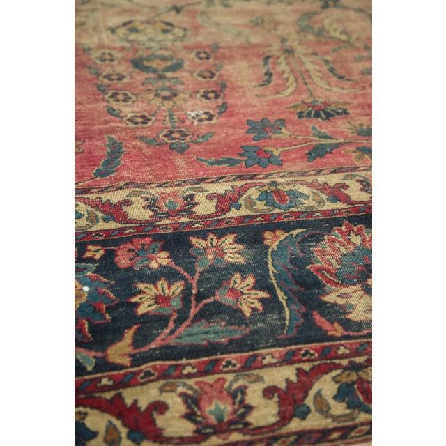 Antique Yazd Carpet - 8' x 10' - Image 4 of 10