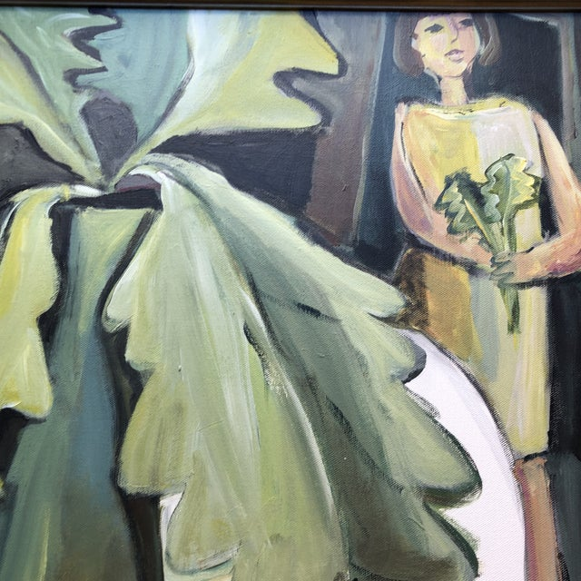Contemporary Original Contemporary Stewart Ross Modernist Still Life Painting Framed For Sale - Image 3 of 6