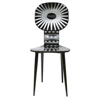 Abstract Fornasetti Raggiera Chair For Sale