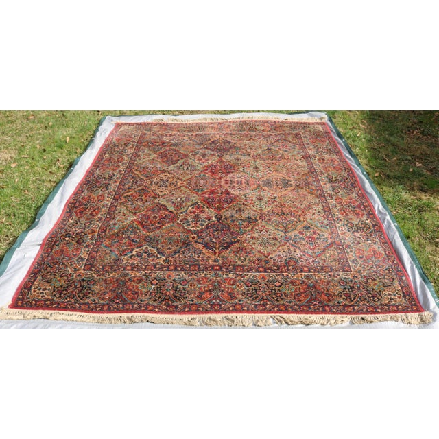 Karastan Kirman Multicolor Rug - 8′7″ × 10′8″ For Sale - Image 9 of 9