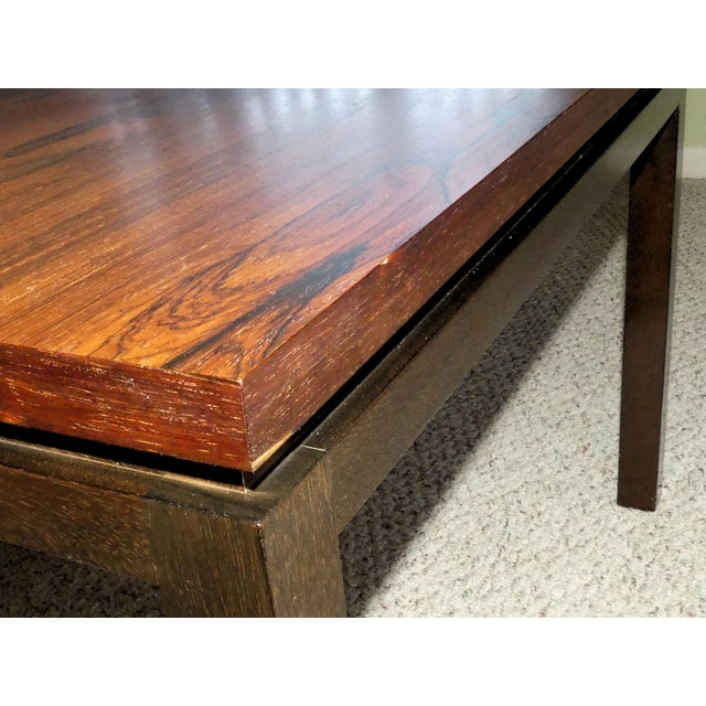 Harvey Probber Rosewood Cocktail Tables - A Pair For Sale - Image 10 of 13