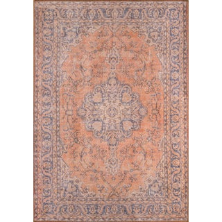 Turkish Momeni Afshar Area Rug - 7′6″ × 9′6″ For Sale
