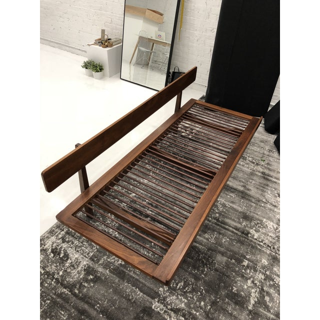 Gray Museum Piece - Arden Riddle Mid Century Modern Sofa Daybed For Sale - Image 8 of 11