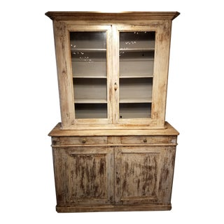 Late 19th Century Antique Buffet Deux Corps/Cupboard For Sale