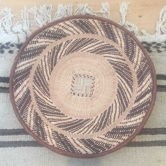 African Tonga Basket Bowl - Image 2 of 5