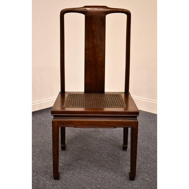 Late 20th Century Henredon Furniture Pan Asian Collection Side Chair For Sale - Image 5 of 11