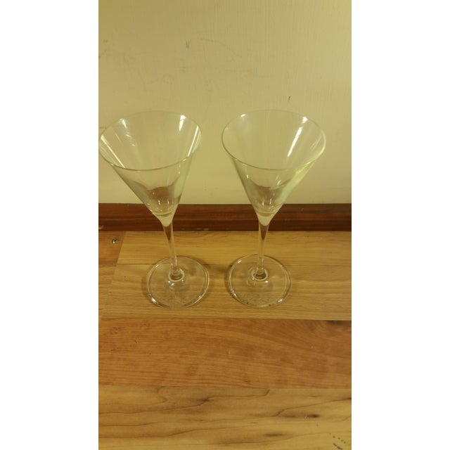Grey Goose Martini Cocktail Glasses - A Pair - Image 3 of 5