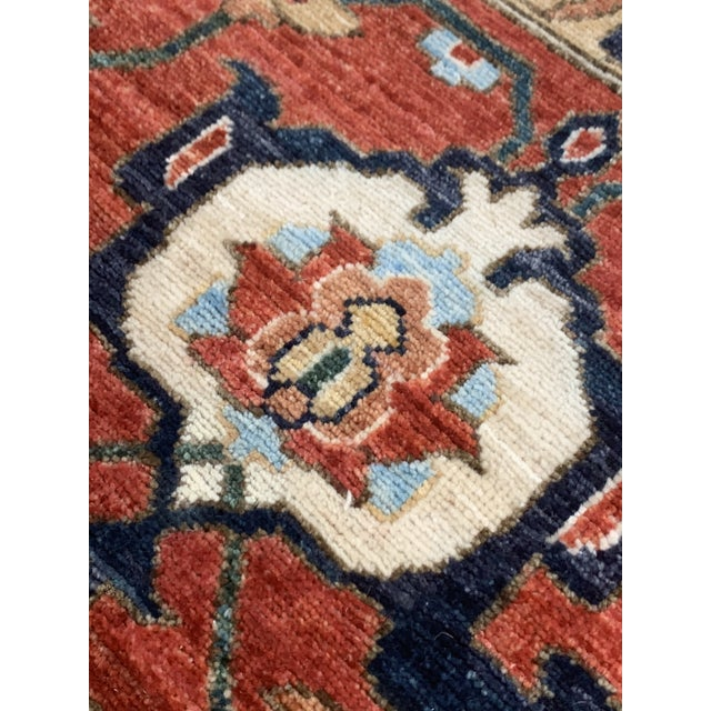"Contemporary Hand Weaved Kazak Rug-11'8"" X 14'5"" For Sale - Image 9 of 12"