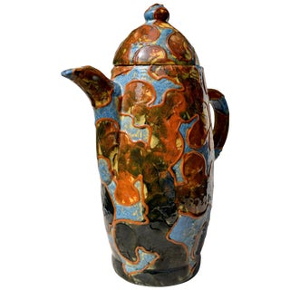 Michael Andersen, Camouflage Series Pitcher, Denmark, 1940s For Sale