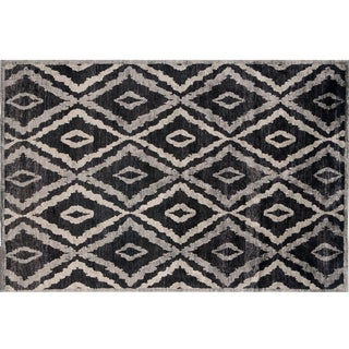 Stark Studio Rugs Traditional New Oriental Tibetan 100% Bamboo Silk Rug - 6′ × 9′ For Sale