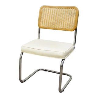Cesca Breuer Chair Cane Marcel Style Kitchen Dining Italy Mid Century Modern A For Sale