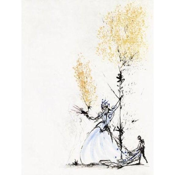 Salvador Dali - La Fille a Page - Image 1 of 1