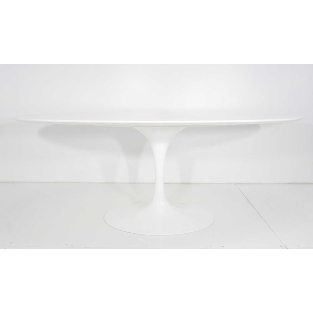Eero Saarinen for Knoll Oval Tulip Table For Sale - Image 9 of 9
