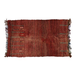Vintage Berber Moroccan Rug, 5'9 x 9'2