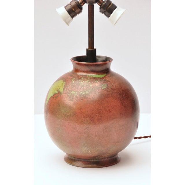 Modern Fritz Haussmann Ceramic Lamp, Switzerland, 1930s For Sale - Image 3 of 10