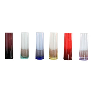 Rainbow Tall Shot Glasses For Sale