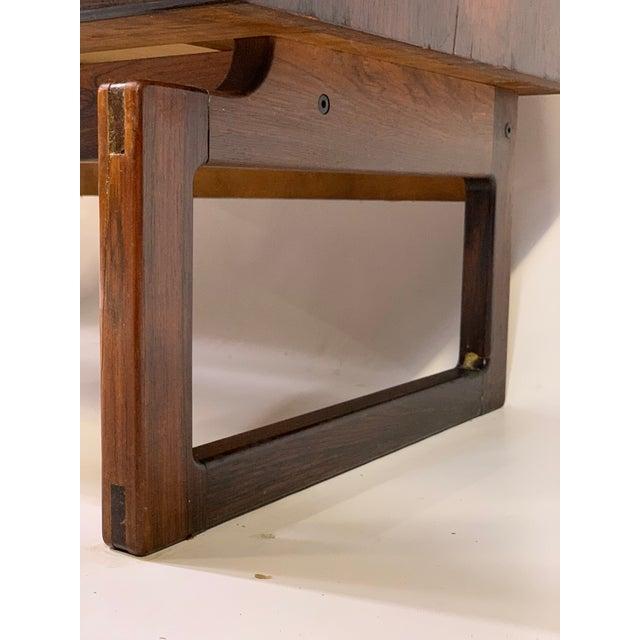 1960s 1960s Mid-Century Modern Arne Hovmand Olsen for Mogens Kold Mobelfabrik Rosewood Secretary Desk For Sale - Image 5 of 13
