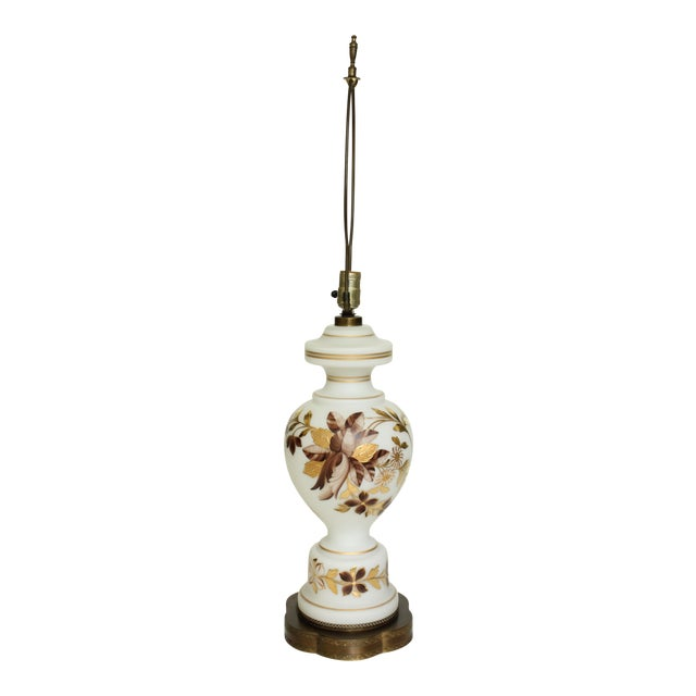 Bavarian Bristol Gold Gilded Table Lamp For Sale