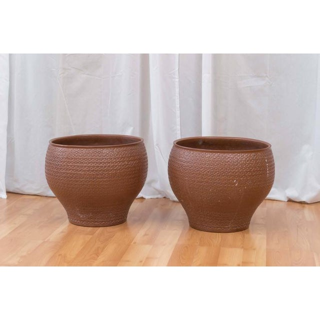A planter circa 1960s by David Cressey for Architectural Pottery. This design is known by dealers and collectors as...