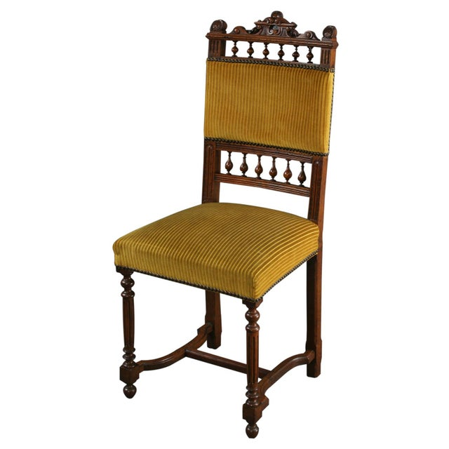 Antique French Dining Chairs Henry II - Set of 6 - Image 2 of 10
