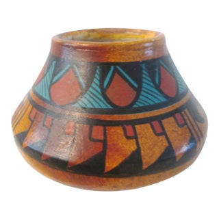 Vintage Mexican Pottery Pot For Sale