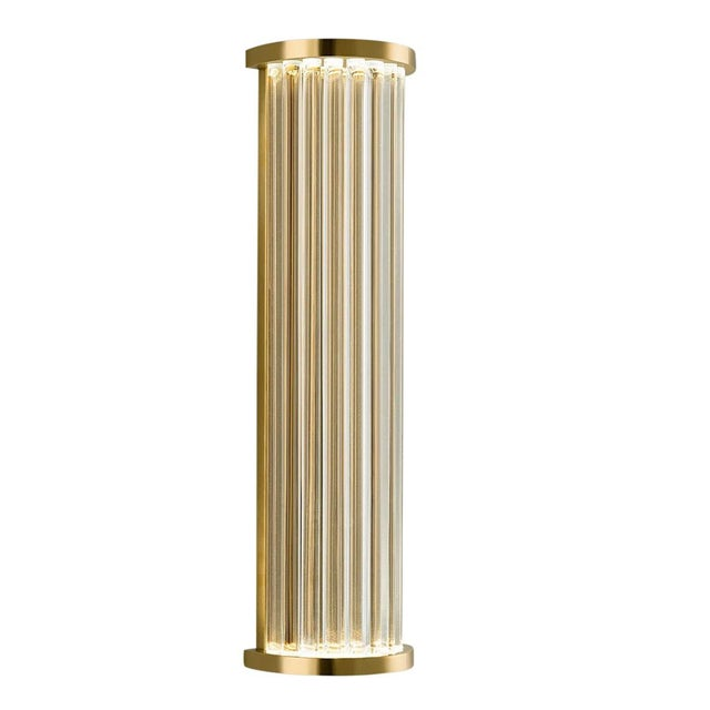Criterion Polished Brass Wall Light For Sale - Image 4 of 4
